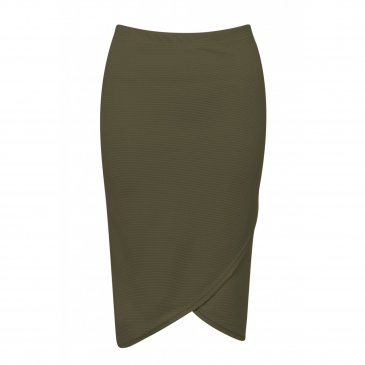 Product image of Wrap Over Style Midi Skirt