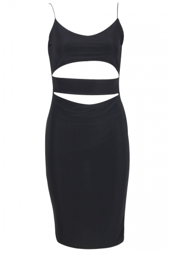 Product image of Cut Out Bodycon dress Black