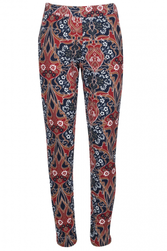 Product image of RETRO CREPE TROUSERS-NAVY