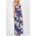 Product image of Beauty Queen Blue Maxi dress