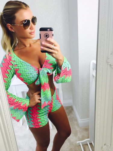 Product image of Billie Neon Crochet 2 piece