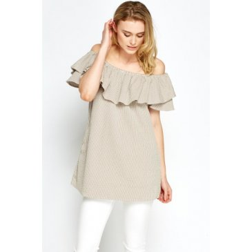 Product image of Megan Textured Nude Long Top