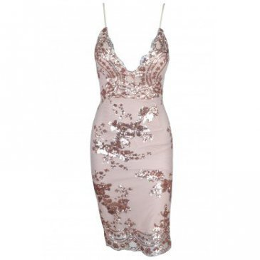 Product image of Dream Gold Sequin Dress