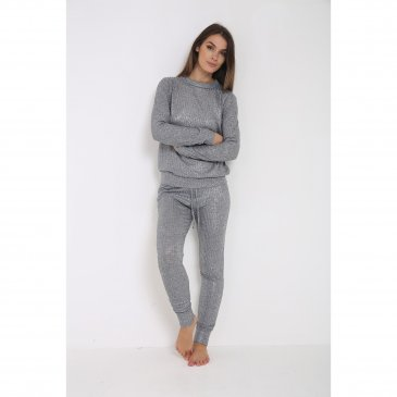 Product image of Sarah Metallic Foil Loungewear
