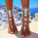 Product image of jewelled anklet sliver