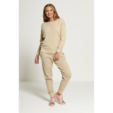 Product image of JADA BEIGE LOOSE TRACKSUIT