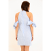 Product image of Polly Stripe Dress Blue