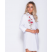 Product image of Rose Flower Embroidered Shirt Dress