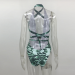 Product image of BILLIE SNAKE green SWIMSUIT