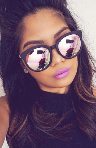 Product image of Georgia pink frame sunglasses
