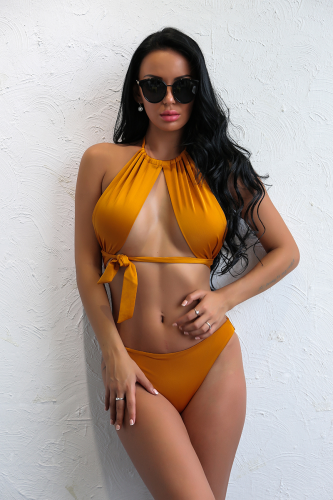 Product image of Marbella Sunset Halter Neck Bikini