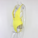Product image of Amber Yellow Wrap swimsuit