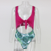 Product image of Chloe pink and mint swimsuit