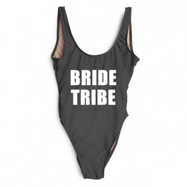 Product image of Bride Tribe slogan swimsuit
