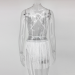 Product image of Luna Silver Tassel Suit