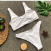 Product image of call me fierce white bikini