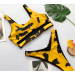 Product image of call me fierce yellow bikini