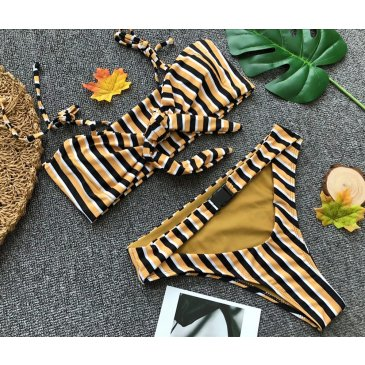 Product image of Courtney stripe tie bikini