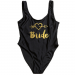 Product image of Bride with heart slogan swimsuit